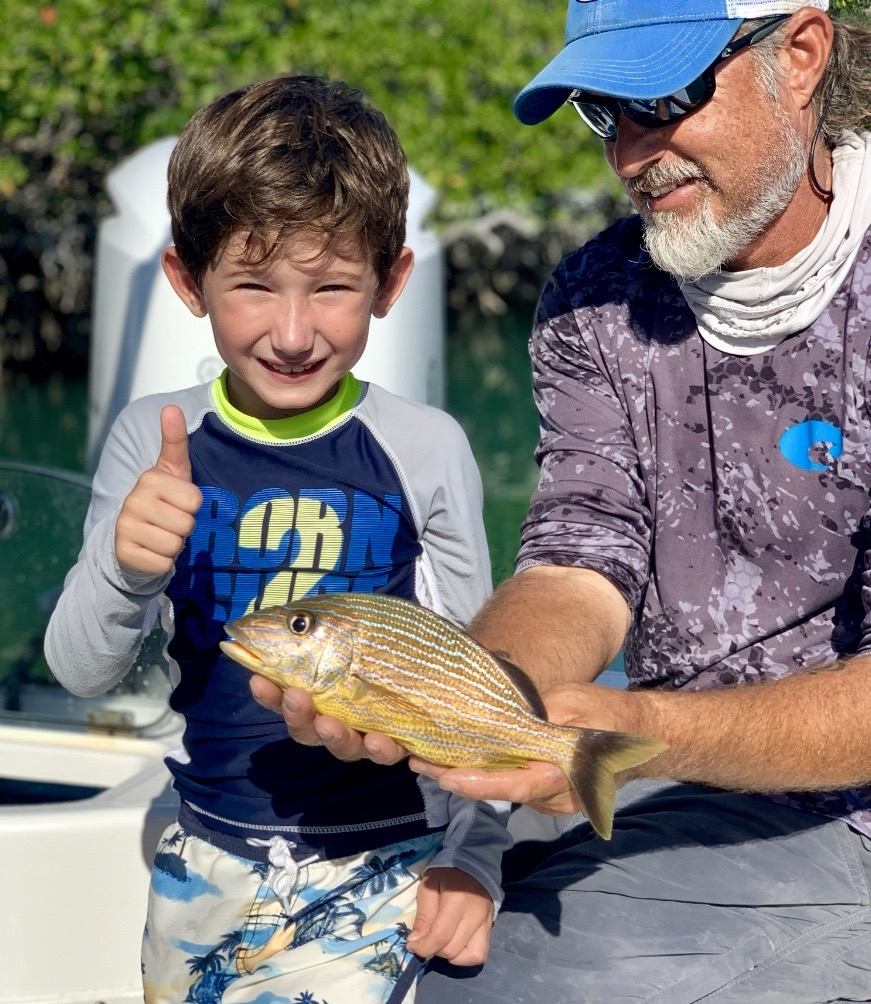 key west fishing charter kids
