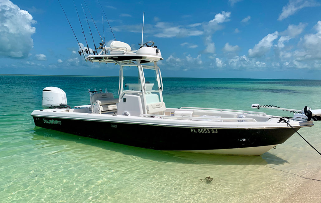 247 sport fishing key west everglades center console boat